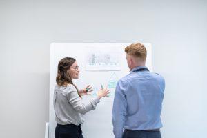 Businessmodell und Praesentation