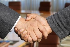 Erfolgsgeschichten Unternehmer -zusammen stark