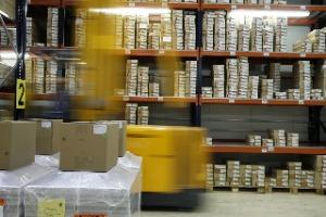 Online-Shop - große Produktpaletten