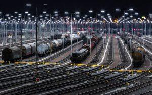 Gueterverkehr mit Zug