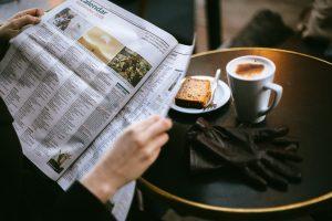 Zeitungsinserate